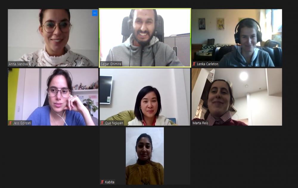 A última reunião do Projeto Globers de 2020 já aconteceu!